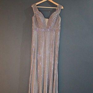 Jovani Beaded Bridesmaid Dress